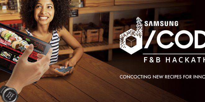 Samsung D/code F&B Hackathon