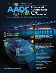 2018 Advanced Autonomous Drive Conference