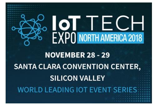 IoT Tech Expo North America 2018